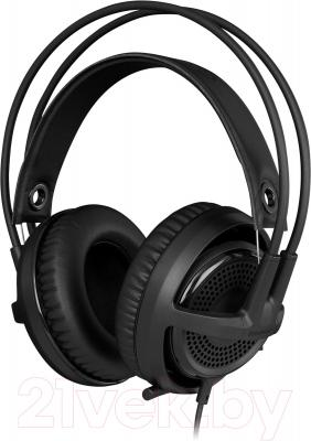 Наушники-гарнитура SteelSeries Siberia v3 Headset Black (61357) - общий вид