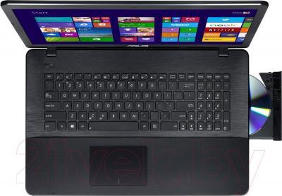 Ноутбук Asus X751LN-TY001D - вид сверху