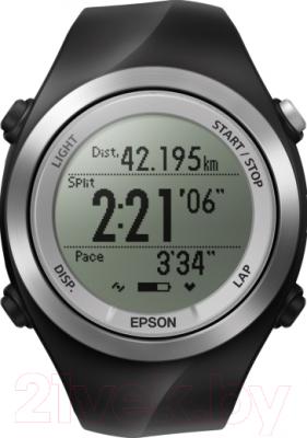 Многофункциональные часы Epson Runsense SF-710S - фронтальный вид