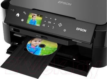 Принтер Epson L810 - печать на дисках