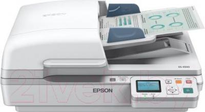 Планшетный сканер Epson DS-7500N - общий вид