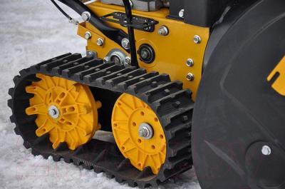 Снегоуборщик Skiper SN-3000 - гусеничный движитель