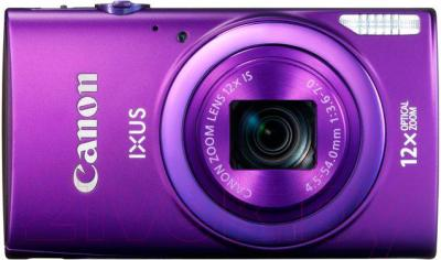 Компактный фотоаппарат Canon IXUS 265 HS (Purple) - вид спереди