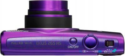 Компактный фотоаппарат Canon IXUS 265 HS (Purple) - вид сверху