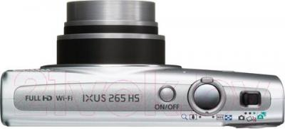 Компактный фотоаппарат Canon IXUS 265 HS (серебристый) - вид сверху
