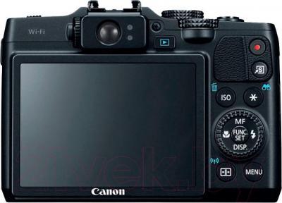 Компактный фотоаппарат Canon PowerShot G16 (Black) - вид сзади