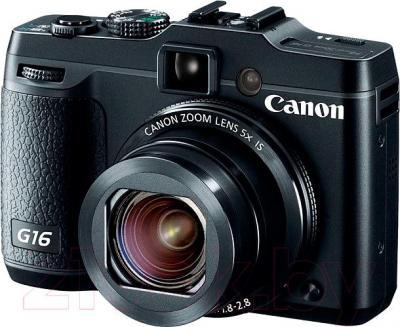 Компактный фотоаппарат Canon PowerShot G16 (Black) - общий вид