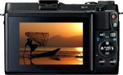 Компактный фотоаппарат Canon PowerShot G1 X Mark 2 - вид сзади