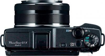Компактный фотоаппарат Canon PowerShot G1 X Mark 2 - вид сверху