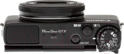 Компактный фотоаппарат Canon PowerShot G7 X - вид сверху