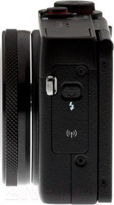 Компактный фотоаппарат Canon PowerShot G7 X - вид сбоку