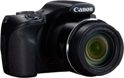 Компактный фотоаппарат Canon PowerShot SX520 HS (Black) - общий вид