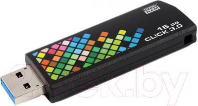 Usb flash накопитель Goodram Cl!ck 3.0 16GB (PD16GH3GRCLKR9) (Black) - общий вид