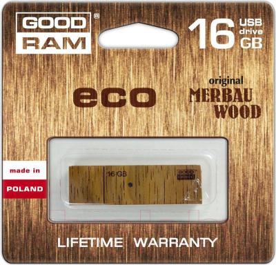 Usb flash накопитель Goodram Eco 16GB (PD16GH2GRER9) - упаковка