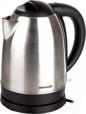 Электрочайник Maxwell MW-1049 ST - вид сбоку