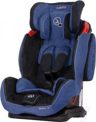 Автокресло Coletto Sportivo (голубой) - общий вид