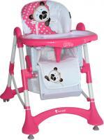 Стульчик для кормления Lorelli Elite Pink Panda (10100141522) -