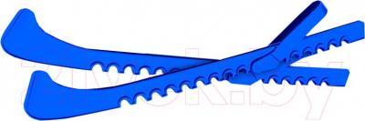 Чехол для лезвия коньков Motion Partner PW110 (синий) - общий вид