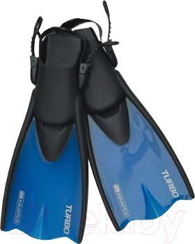Ласты Aquatics Turbo Junior 60676 (синий, р. 33-36) - общий вид