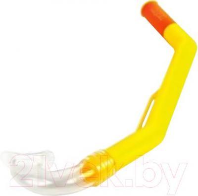 Тpубкa для плавания Aquatics Easy Junior 190032 (желтый) - общий вид