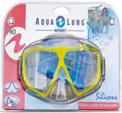 Маска для плавания Aqua Lung Sport Montego Pro Junior 60703 G (Yellow) - общий вид