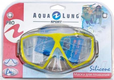 Маска для плавания Aqua Lung Sport Panama Pro 60701 G (желтый) - общий вид