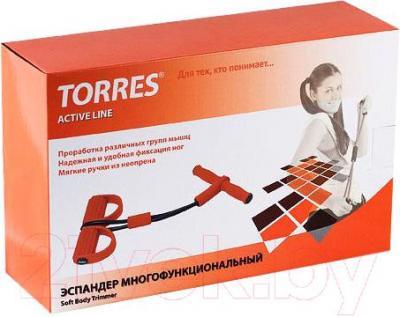 Эспандер Torres AL1008 (Black-Orange) - упаковка