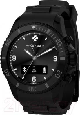 Интеллектуальные часы MyKronoz ZeClock (черный) - общий вид