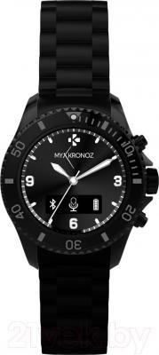 Интеллектуальные часы MyKronoz ZeClock (черный) - фронтальный вид
