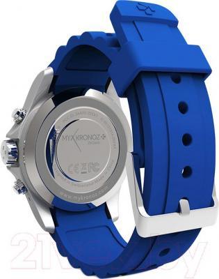 Интеллектуальные часы MyKronoz ZeClock (синий) - вид сзади