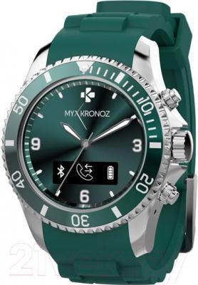Интеллектуальные часы MyKronoz ZeClock (зеленый) - общий вид