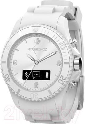 Интеллектуальные часы MyKronoz ZeClock (белый) - общий вид