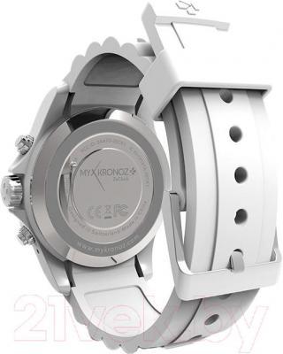 Интеллектуальные часы MyKronoz ZeClock (белый) - вид сзади