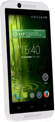 "Смартфон DEXP Ixion E 4"" (белый) - общий вид"