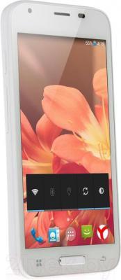"""Смартфон DEXP Ixion ES 4.5"""" (белый) - общий вид"""