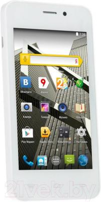 """Смартфон DEXP Ixion ES 4"""" (белый) - общий вид"""