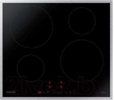 Индукционная варочная панель Samsung NZ64H37075K/WT - вид сверху