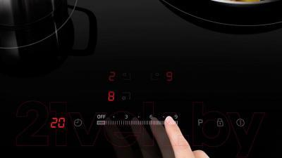 Индукционная варочная панель Samsung NZ64H37075K/WT - сенсорная панель