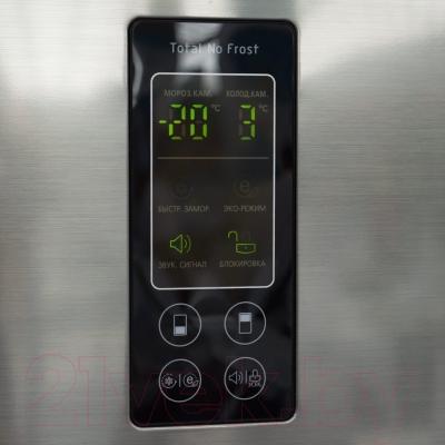 Холодильник с морозильником LG GA-B379SMQA