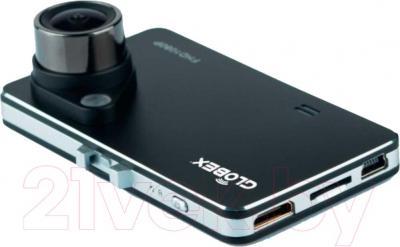 Автомобильный видеорегистратор Globex GU-DVV008 - вид в проекции