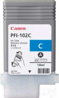 Картридж Canon PFI-102 (0896B001AA) - общий вид
