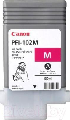 Картридж Canon PFI-102 (0897B001AA) - общий вид