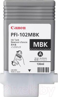 Картридж Canon PFI-102 (0894B001AA) - общий вид