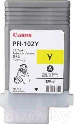 Картридж Canon PFI-102 (0898B001AA) - общий вид