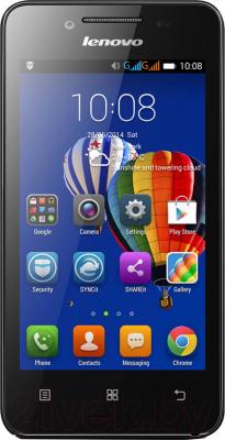 Смартфон Lenovo A319i Music (черный) - общий вид