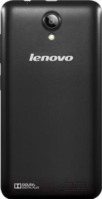 Смартфон Lenovo A319i Music (черный) - вид сзади