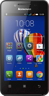 Смартфон Lenovo A319i Music (белый) - общий вид