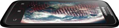Смартфон Lenovo A369i (черный) - вид сбоку
