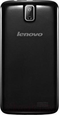 Смартфон Lenovo A328 (черный) - вид сзади