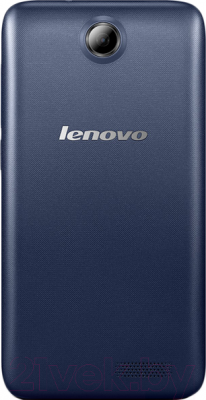 Смартфон Lenovo A526 (Dark Blue) - вид сзади